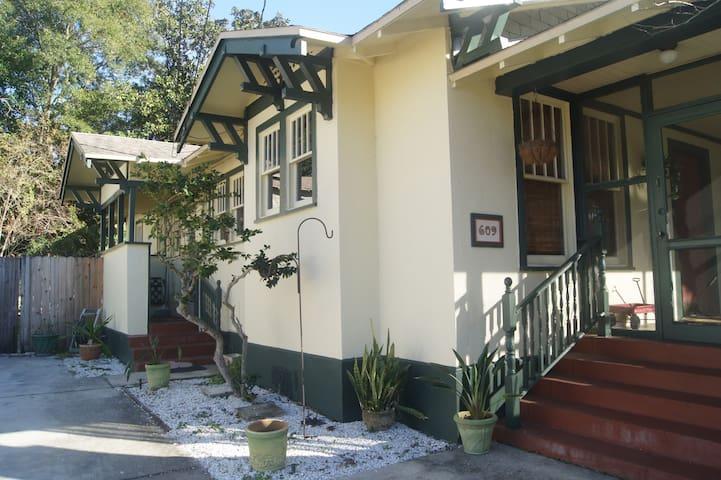 Quaint architectural details on this 1920 home