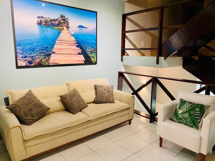 Apartamento C/ Piscina no Centro de Ubatuba