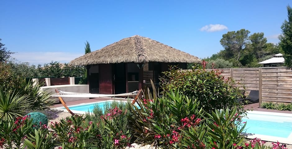 Villa COCOON *** adult only - piscine - Roquefort-les-Pins - Rumah
