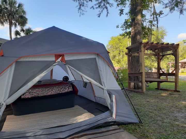 Bronson's Riverfront Glamping site B