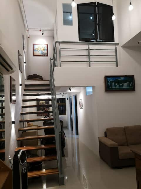 Overview. Loft with 4 private room and double ceiling height