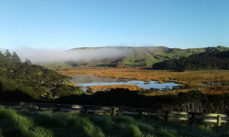self contained Bethells Beach cottage - Auckland - Guesthouse