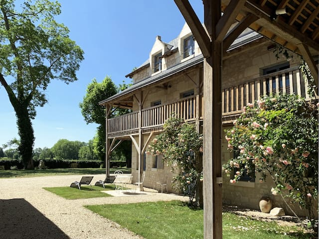 La Loge du château de Sonnay - Gîte 4* pour 2