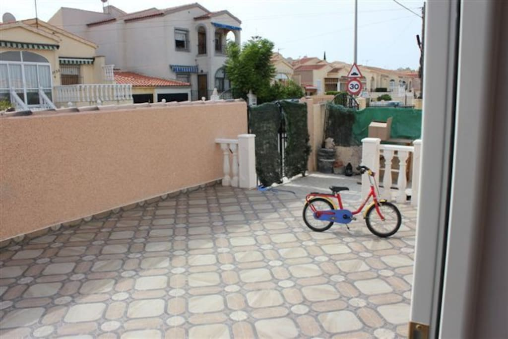 Vordere Terrasse
