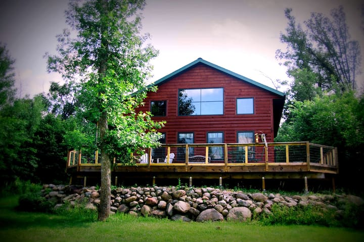 Lakeside Living ALL YEAR LONG at the Cabin!