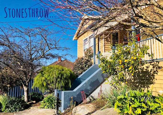 'Stonesthrow' - 3 bedroom character-filled home