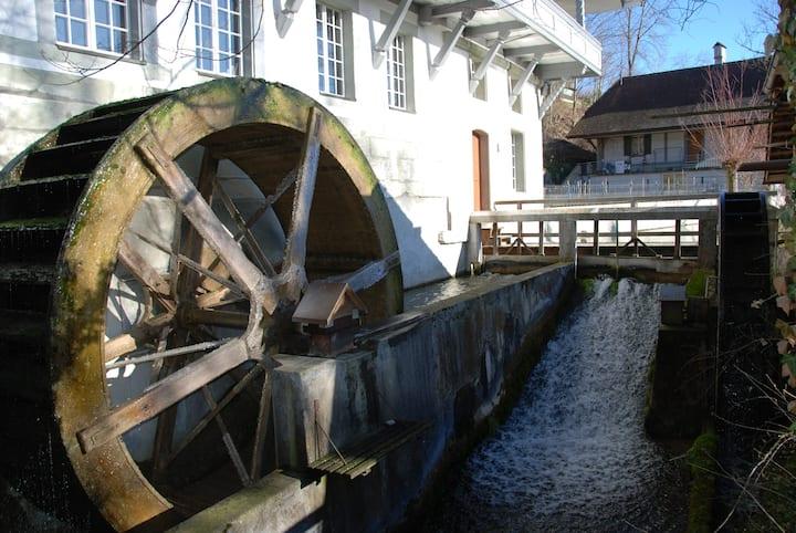Schlafen in der Kulturmühle Lützelflüh