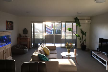Chilled apartment in Funky Footscray - Footscray