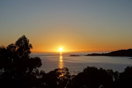 BAY OF FIRES SEACHANGE Pet friendly Binalong Bay