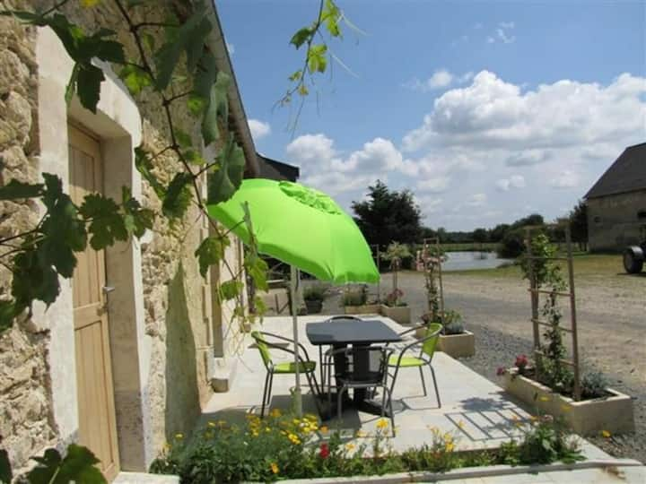 Rental Gite Crannes-en-Champagne, 2 bedrooms, 5 persons - FR-1-410-204