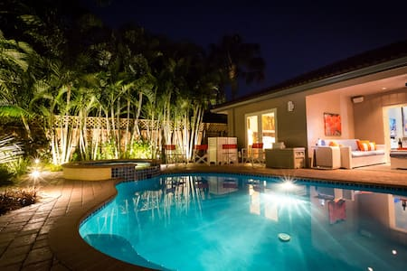 Private Luxury Tropical Oasis, close to Beach - Oakland Park - Dom