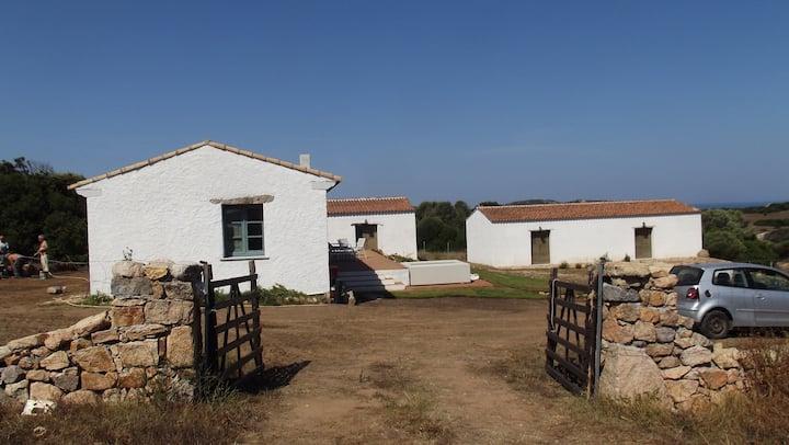 Casa - stazzo con vista sulle Bocche di Bonifacio