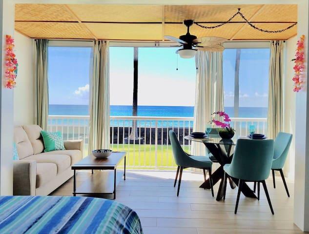 Tropical Oceanfront Beauty