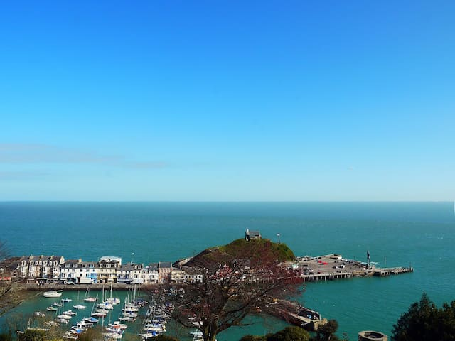 Apartment with great views of Ilfracombe Harbour