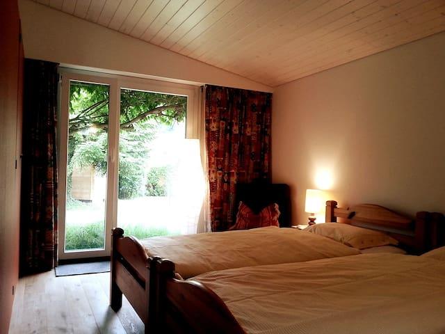 Chambre lits simple