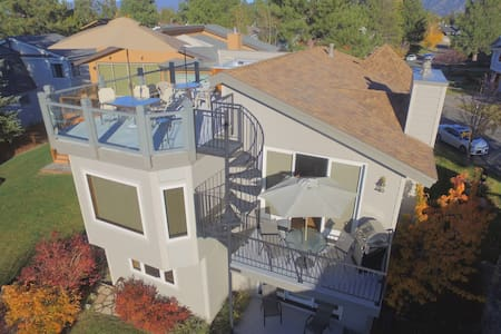 Waterfront Vista-New! Rooftop HotTub, Private Dock - South Lake Tahoe