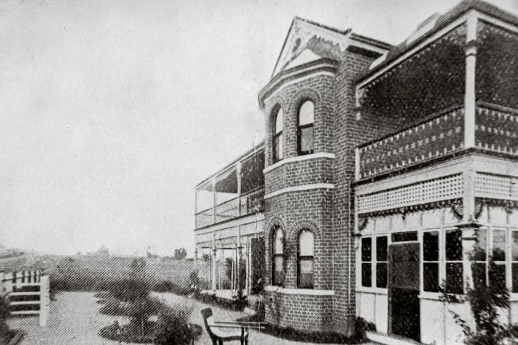 Grenfell Hall - photo taken in 1908