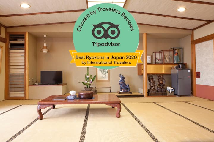 [HINODEYA] TRADITIONAL INN TATAMI WIDE ROOM