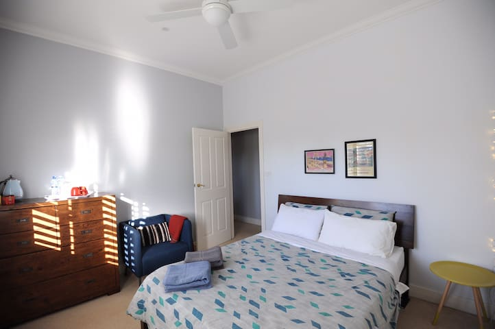 Central Gisborne private room (shared bathroom)