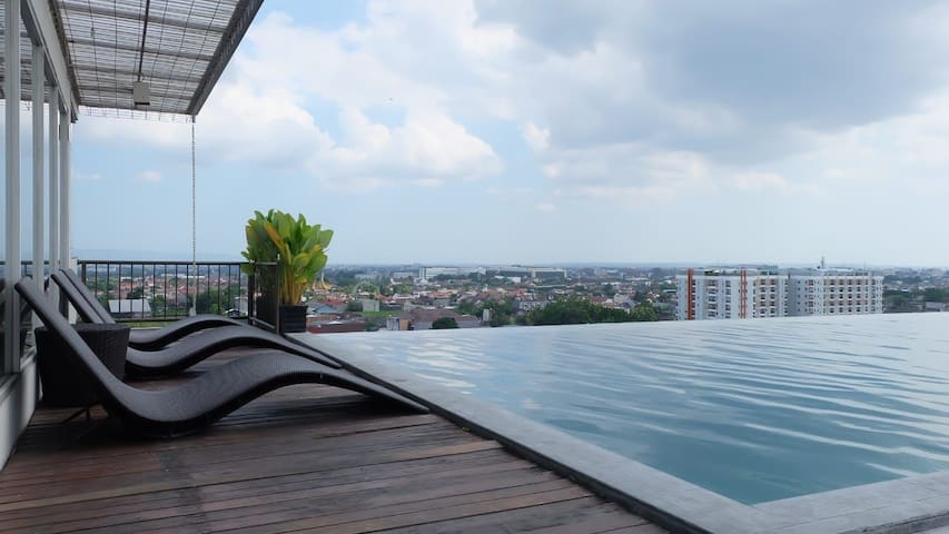 (12) Studentpark Apart+WIFI+TV CABLE+ROOFTOP POOL