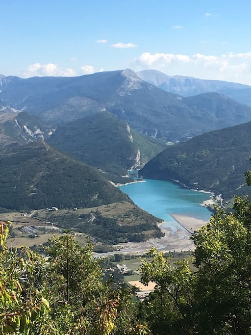 le lac de castillan