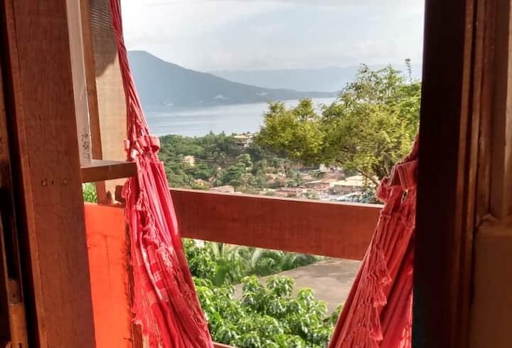 Vila Panorâmica Ilhabela - Chalé vista para o mar