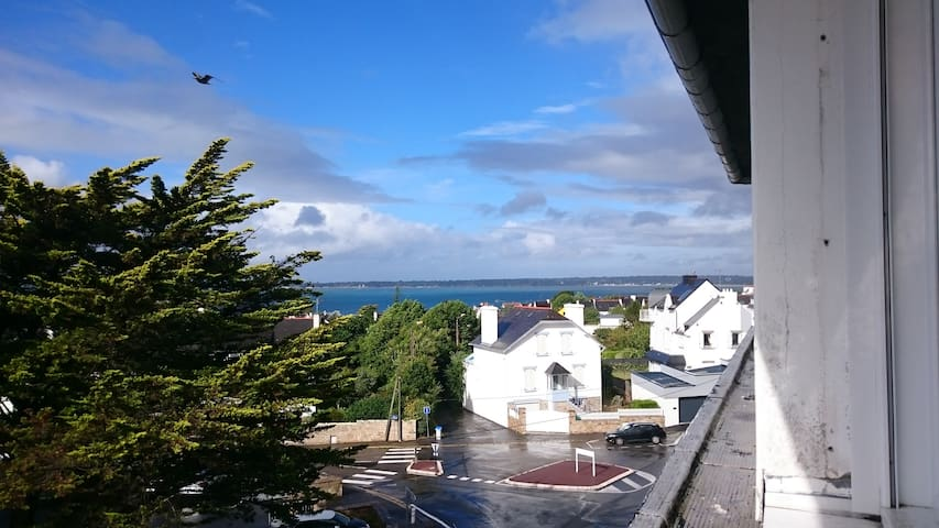 Agréable T2 centre Concarneau, vue mer et ville - Concarneau - Apartment
