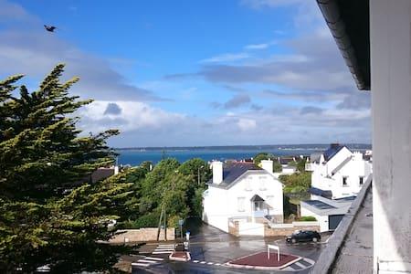 Agréable T2 centre Concarneau, vue mer et ville