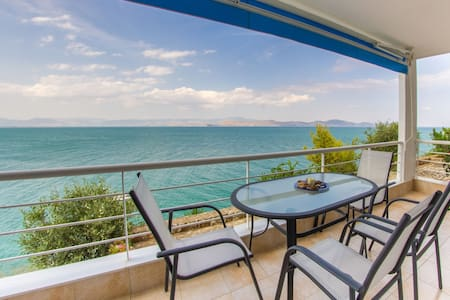 Seaside,SeaView,Big balcony,1 Bedroom,1 Bath,40sqm - Kiveri - Apartament