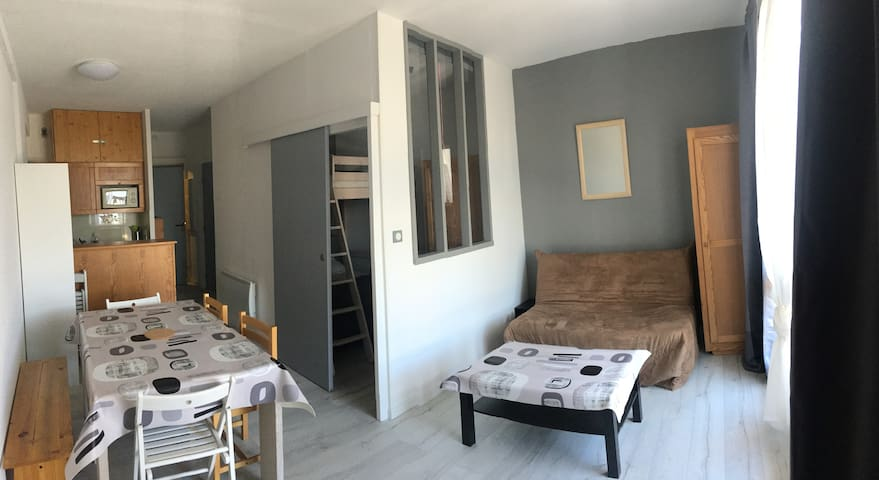 Appartement T2 - Les Angles - 4/6 personnes