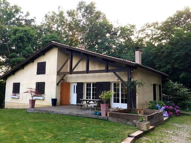 Maison spacieuse avec terrasse vue sur la forêt