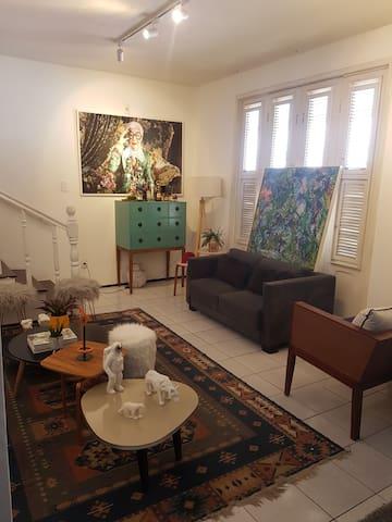 Casa Duplex a uma quadra da Beira Mar de Fortaleza