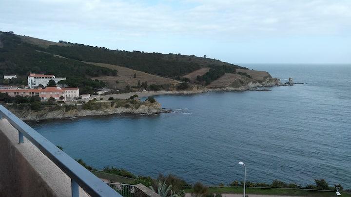 Appartement T2 vue imprenable sur mer