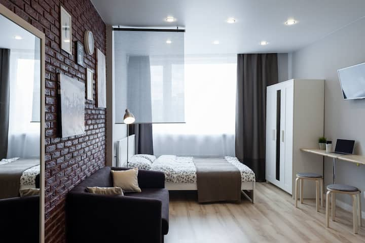 Стильные апартаменты в самом центре Екатеринбурга!