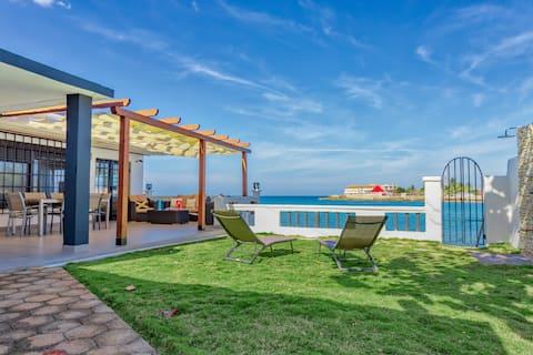 Camarioca Bay. Luxuosa casa à beira-mar em Cuba.