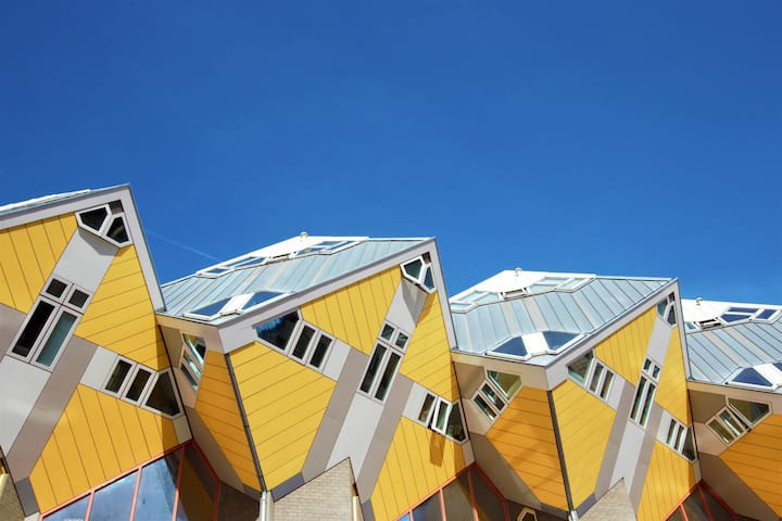 ◈ Iconic Cube House in the ❤ of Rotterdam! ◈