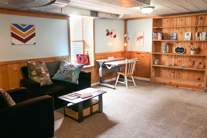 Comfy, Rustic Guest Suite