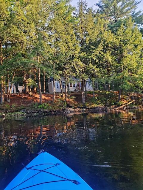 Riverpine Retreat - clean&bright waterfront home