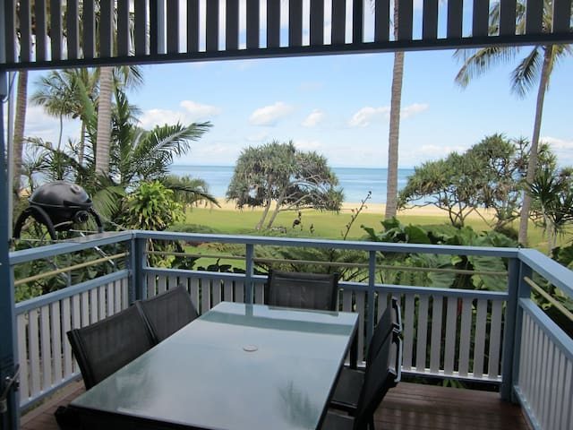 Your Absolute Beachfront Villa 13,  at Tangalooma - QLD - Villa