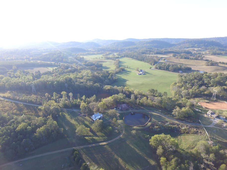 Brand new aerial photos taken at the farm!