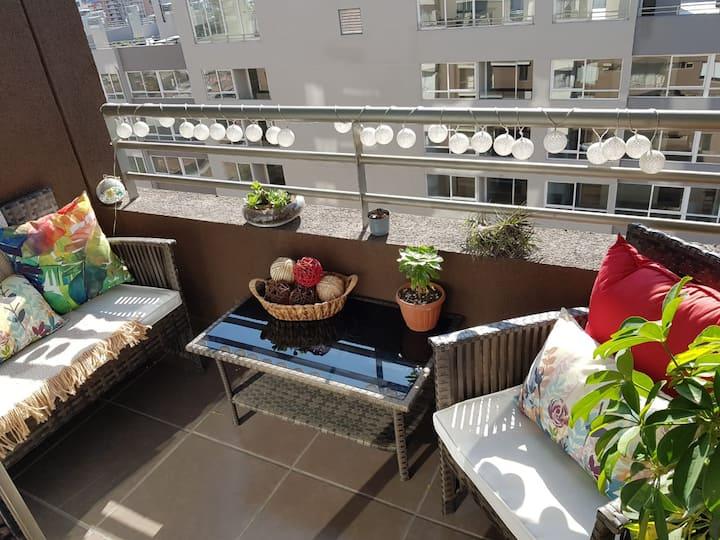 Habitación para una personas baño privado en suite