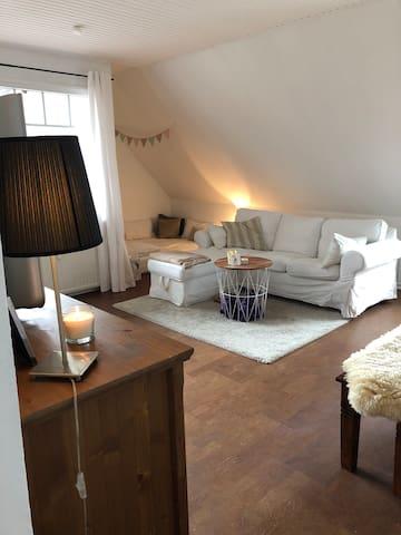 Helle und großzügige 3-Zimmer Wohnung in Oering