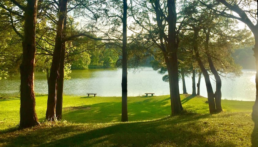 BEAUTIFUL LAKE VIEW, from inside and outside!