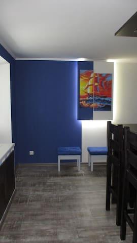 """Studio-apartment """"Scarlet Sails""""."""