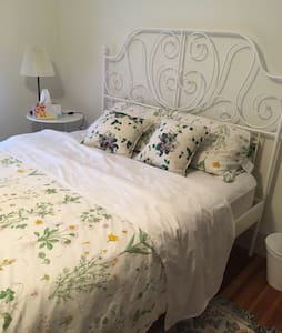 Large cozy room T downtown Parking - Quincy - Villa