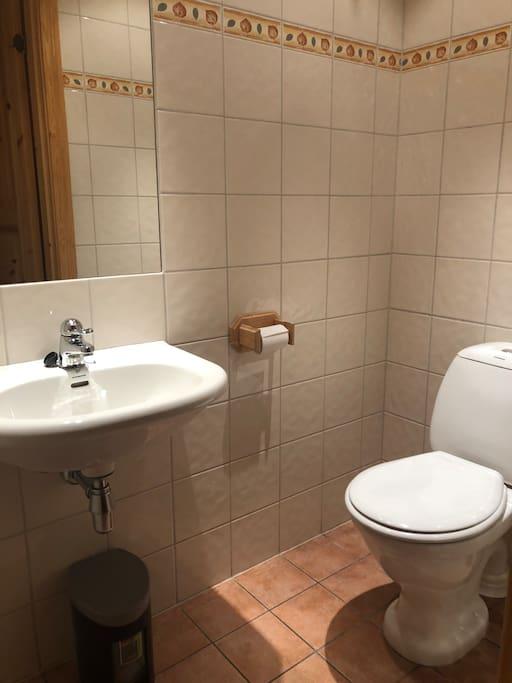 Separat toalett