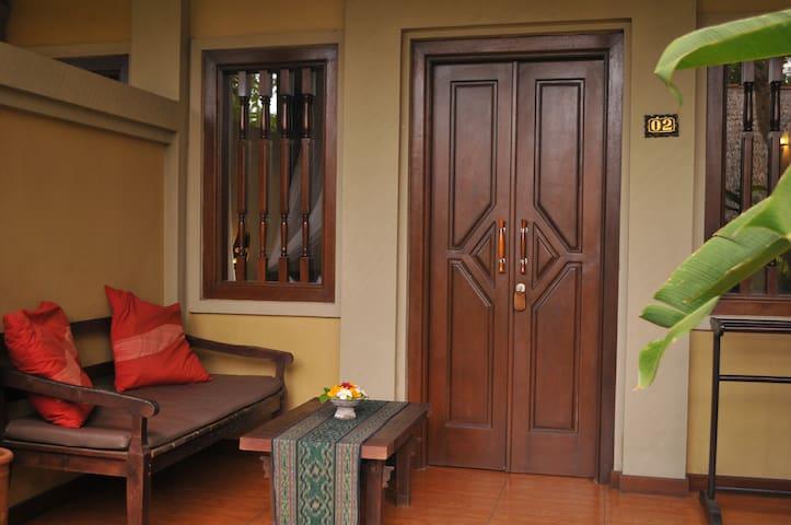 Fan Room at Tirtasari Bungalows - Gerokgak