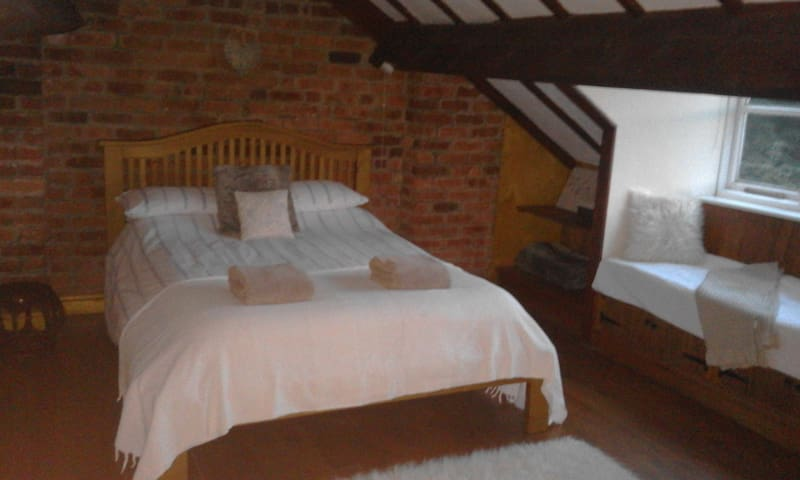 Double bedroom - the attic room