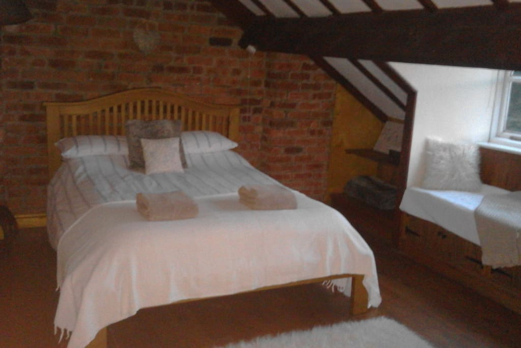 Double bedroom - the attic room