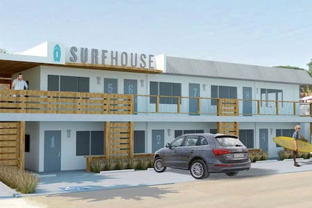 Surfhouse Boutique Motel - Beacons Room 1 - Encinitas - Boutique-hotell